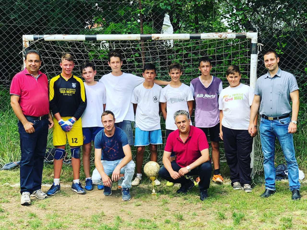 VIII Turnir u malom fudbalu u Crnoljevici 1