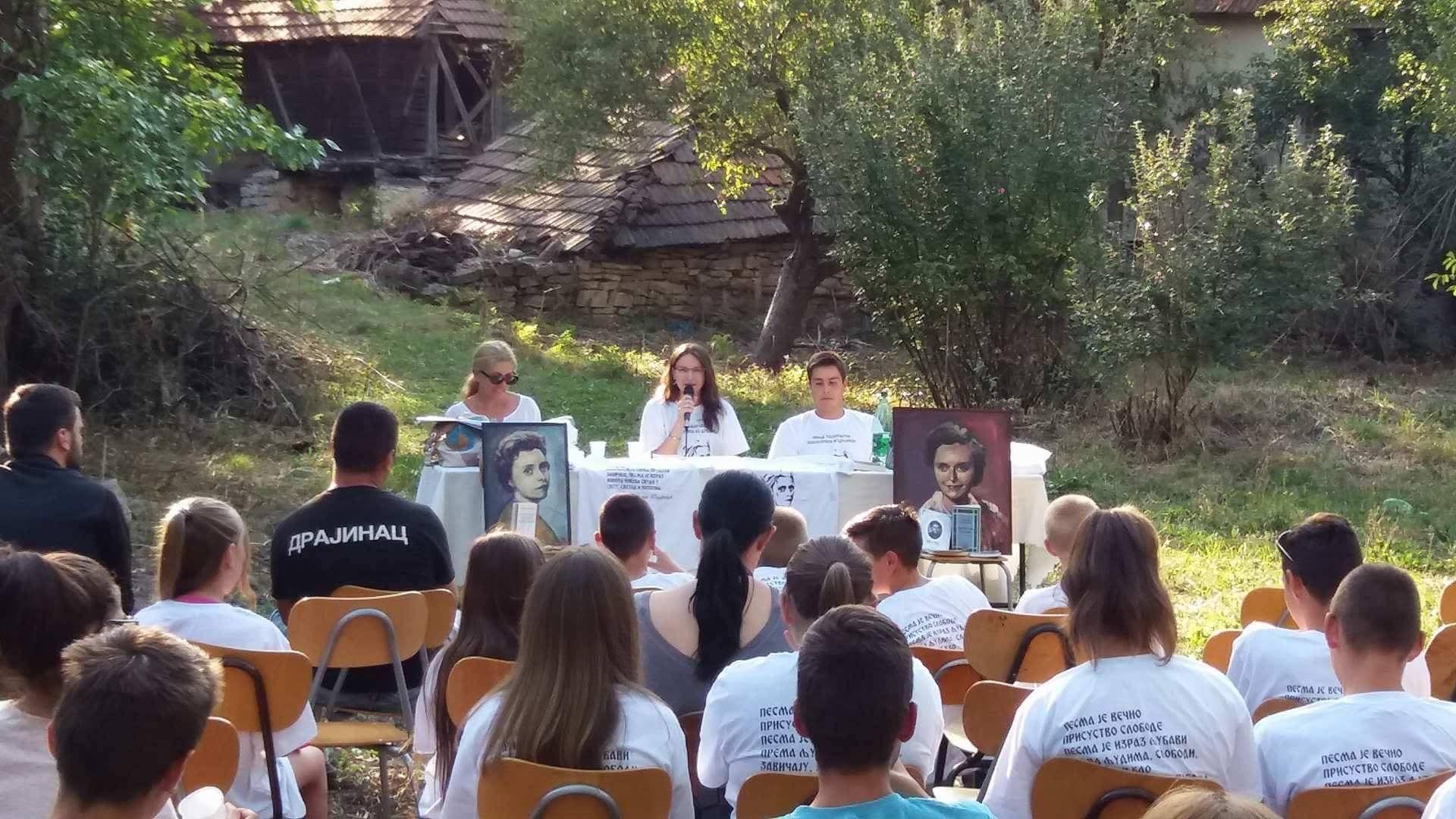 Održano književno veče u Drajincu posvećeno Gordani Todorović