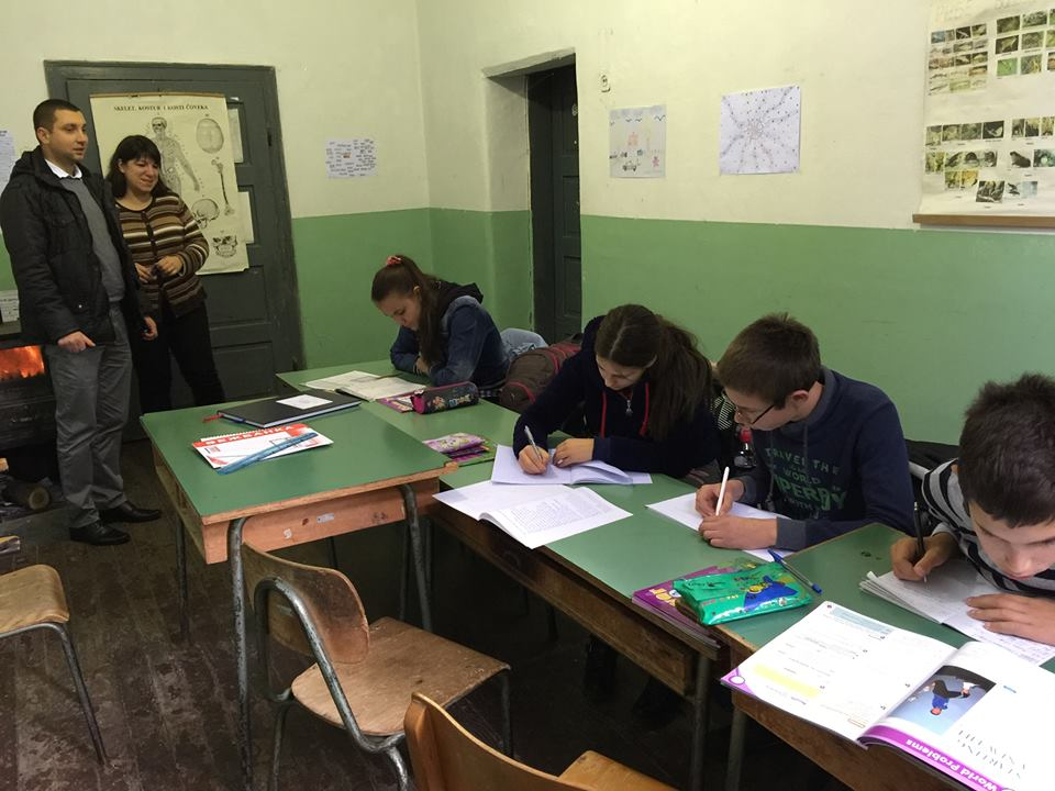 Poseta seoskoj školi u Lalincu