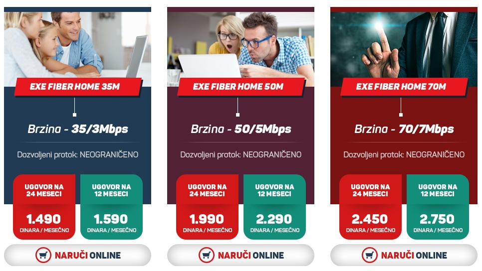 """SVRLJIG: Stigla digitalna televizija """"Exe Net"""""""