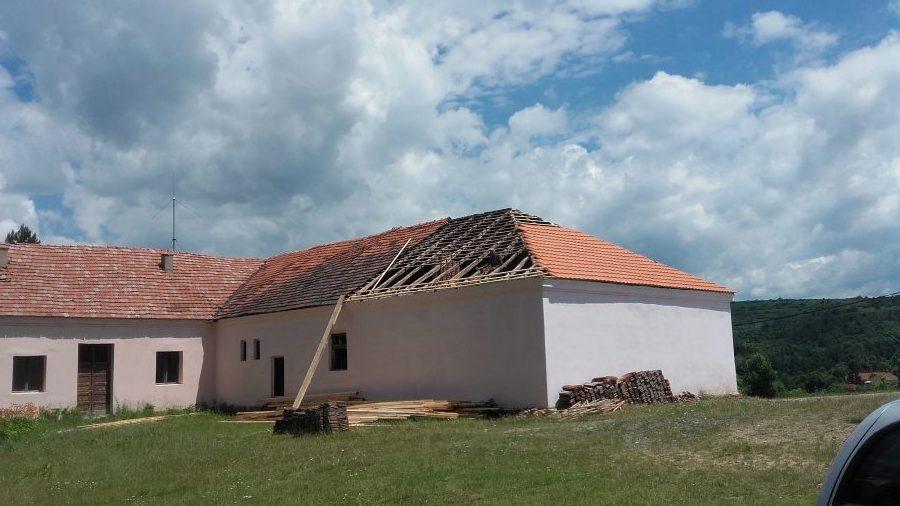 Uređenje zgrade MZ Lukovo