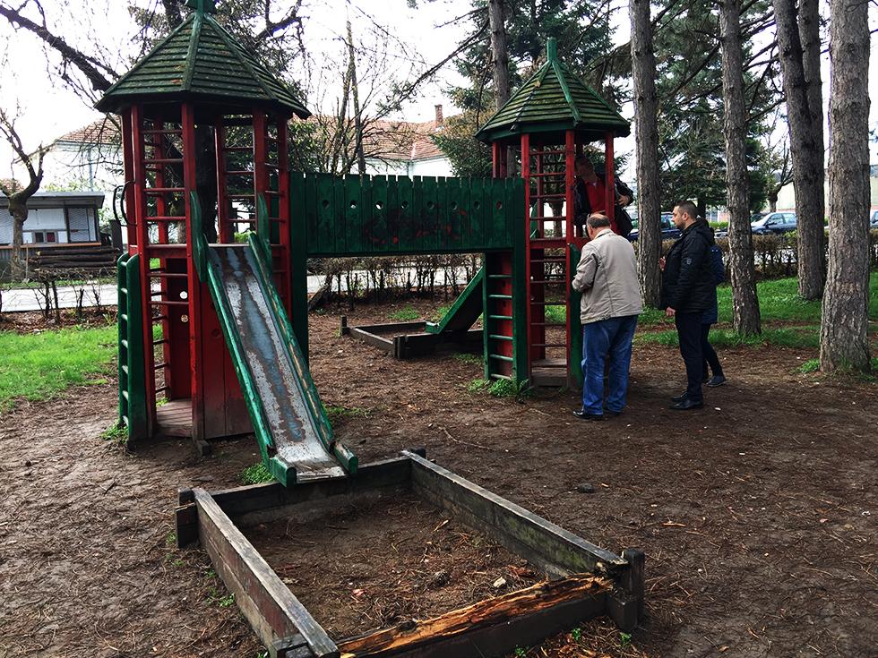 Kreće treća faza rekonstrukcije gradskog parka u Svrljigu