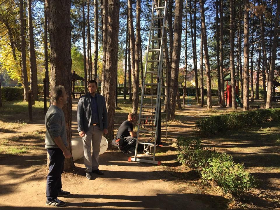 Gradski park uskoro pod video nadzorom, foto: M. Miladinović