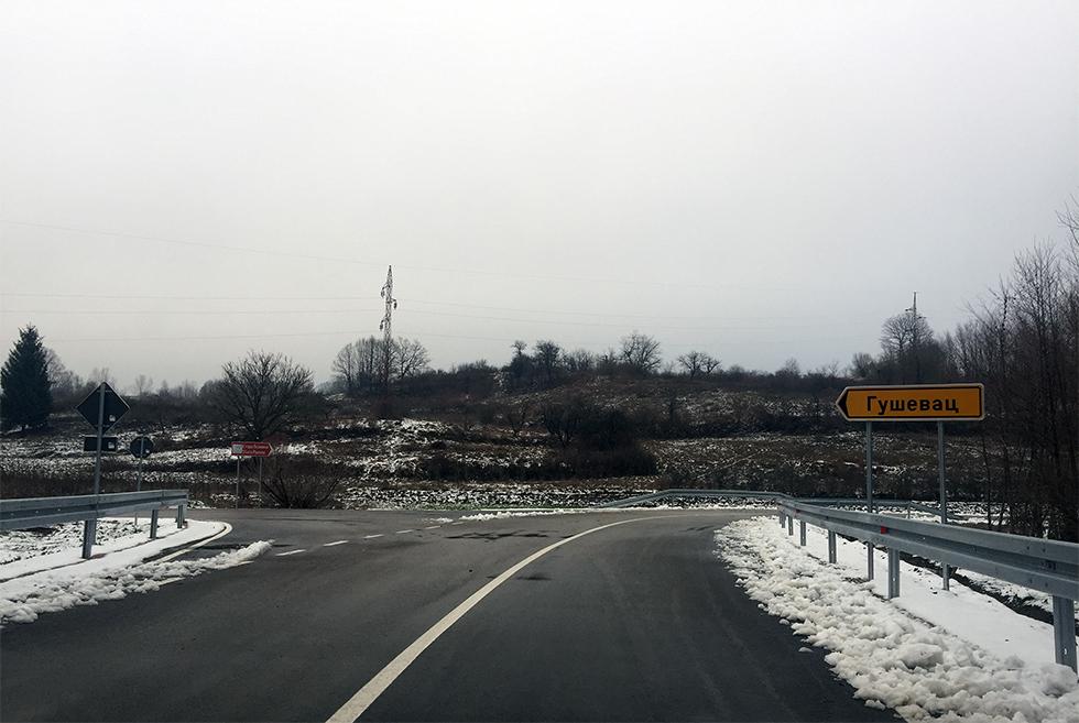 Put prema Staroj planini, skretanje za Guševac, foto: M. Miladinović, Svrljške novine