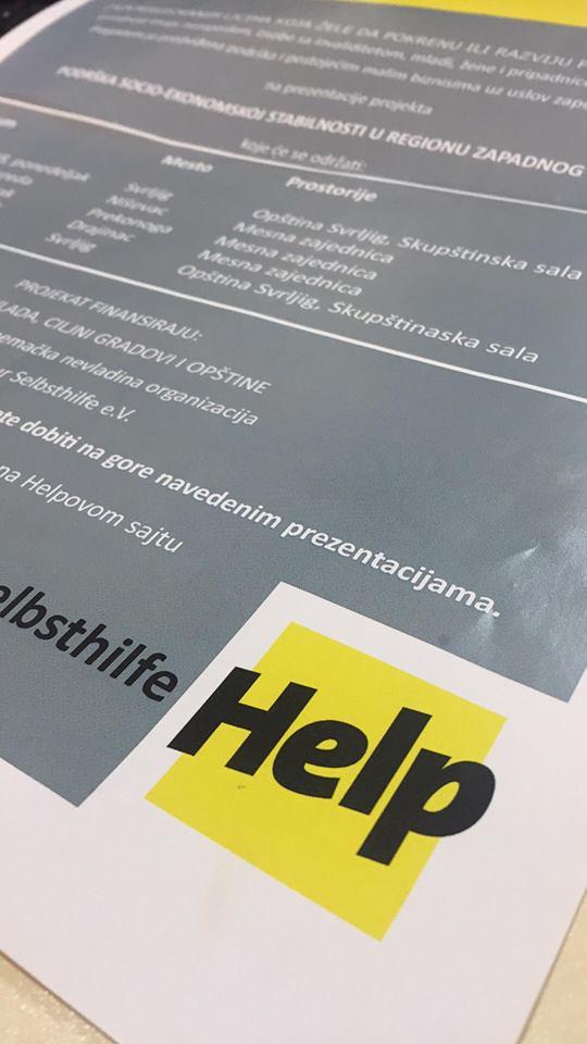HELP sa 2.400 EURA POMAŽE pokretanje i unapređenje mikro biznisa 1