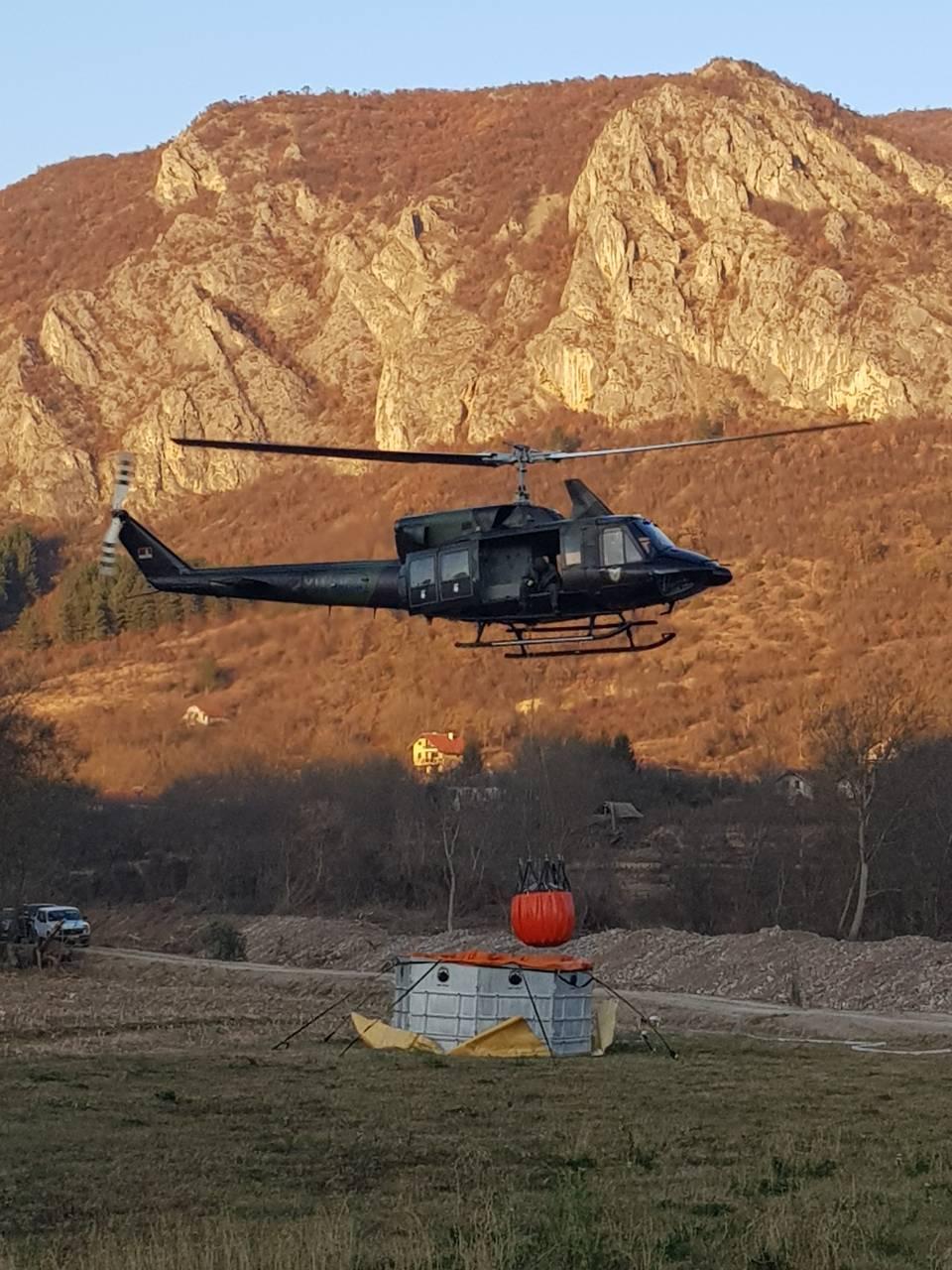 Akcija helikoptera, foto: Redakcija