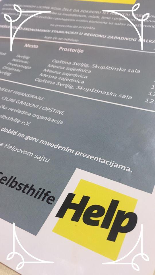 POKRENITE POSAO! NEMAČKI ''HELP'' DAJE PODRŠKU OD 2.400 EURA 1