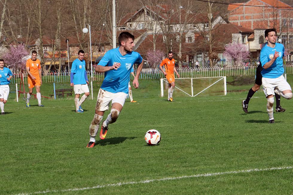 Igrač utakmice Nenad Ilijić FK ''Svrljig'', foto: M. Miladinović