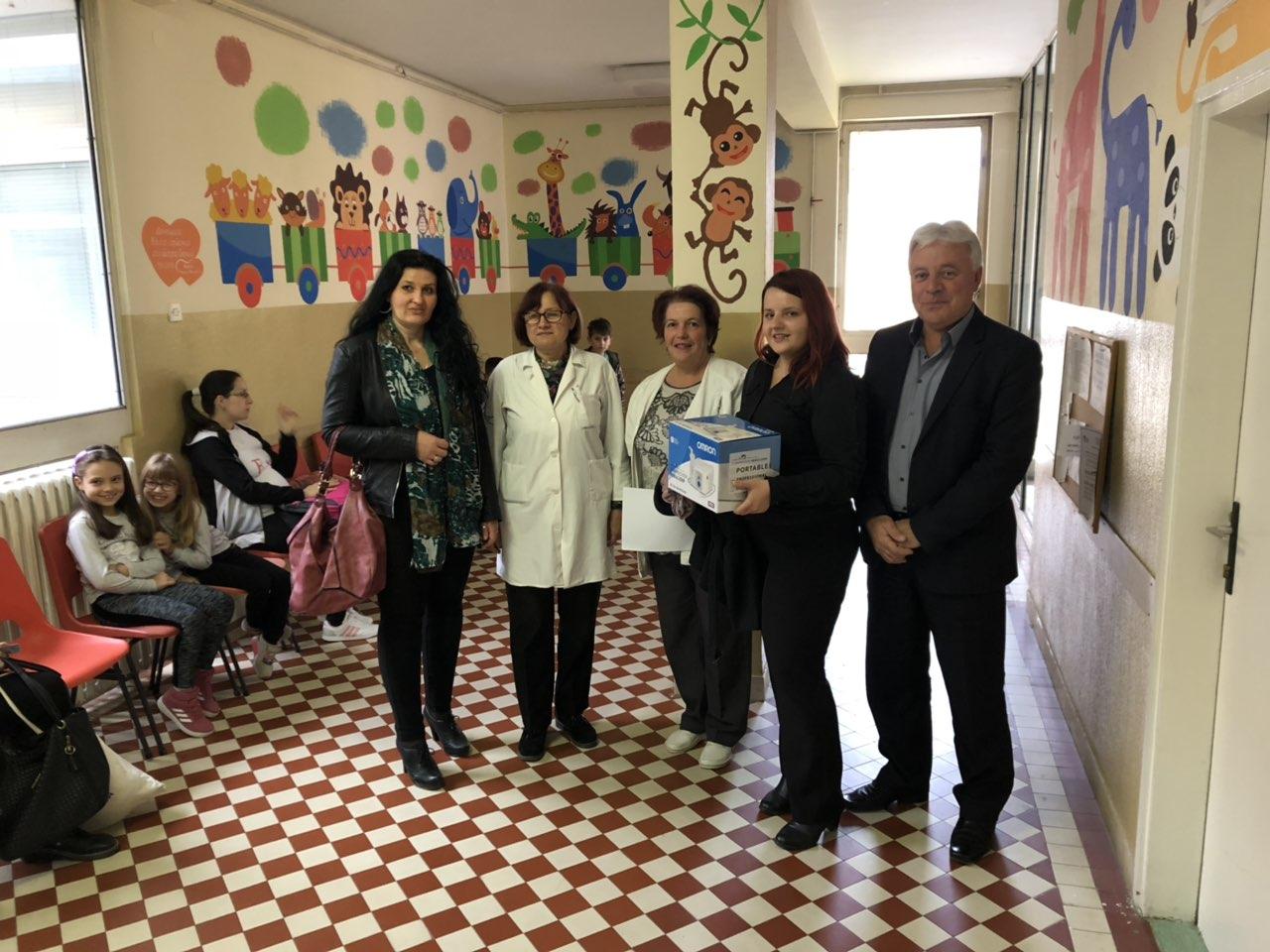 KOLO SRPSKIH SESTARA SVRLJIG: Inhalator za decu – donacija Domu zdravlja Svrljig