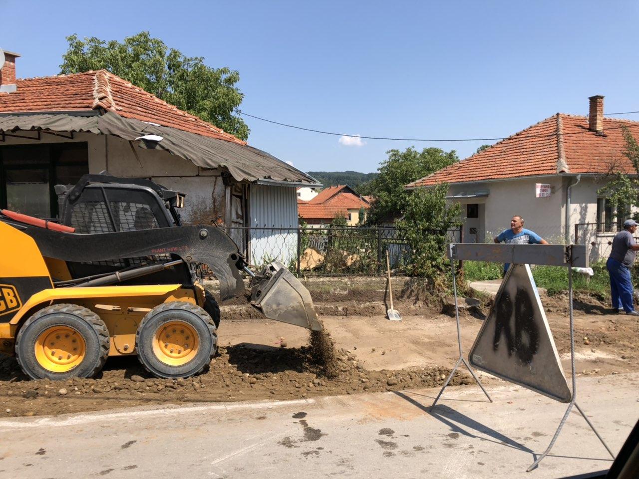 Počela izgradnja trotoara u ulici Vasilija Anđelkovića Albanca 2