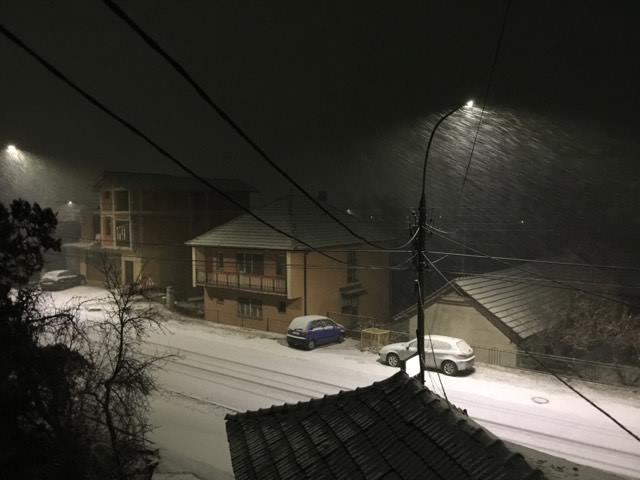 Pada sneg u Svrljigu