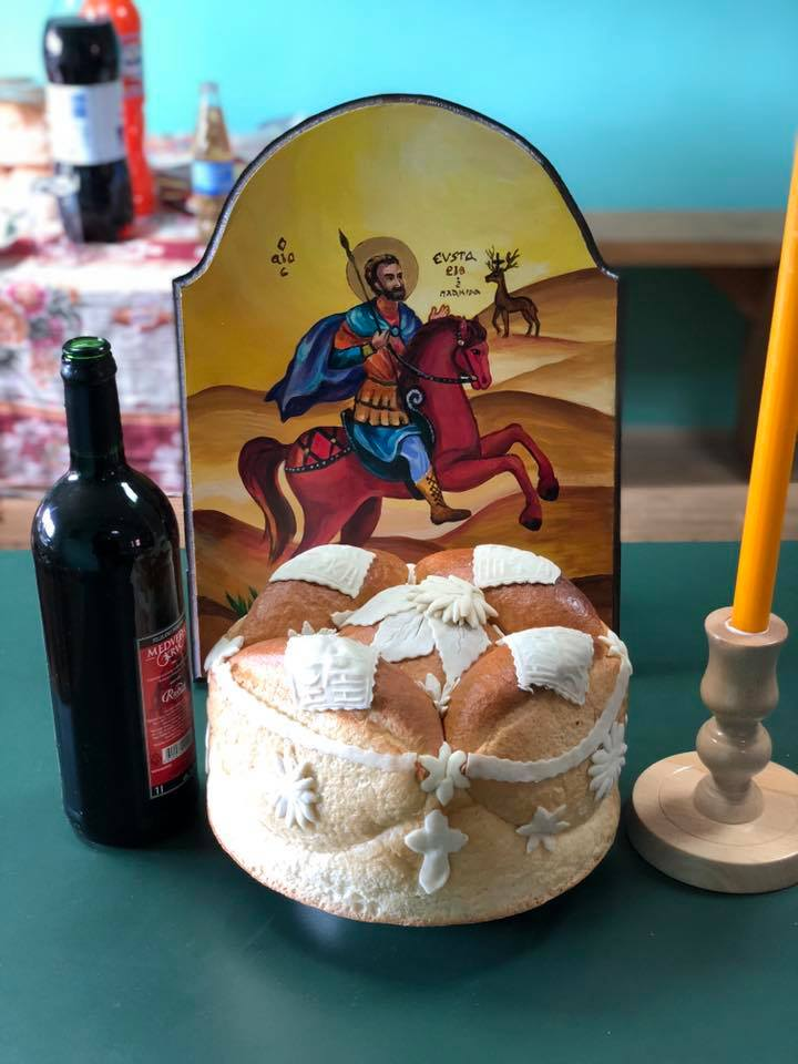 Ikona i kolač, foto: M. Miladinović
