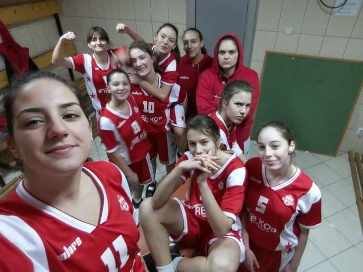 Košarkašice - ponos Svrljiga i svrljiškog sporta, foto: Privatna arhiva