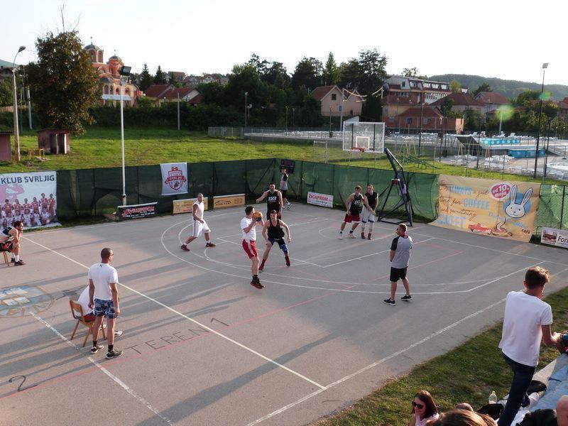"""Završen turnir u basketu """"Tri na tri"""""""