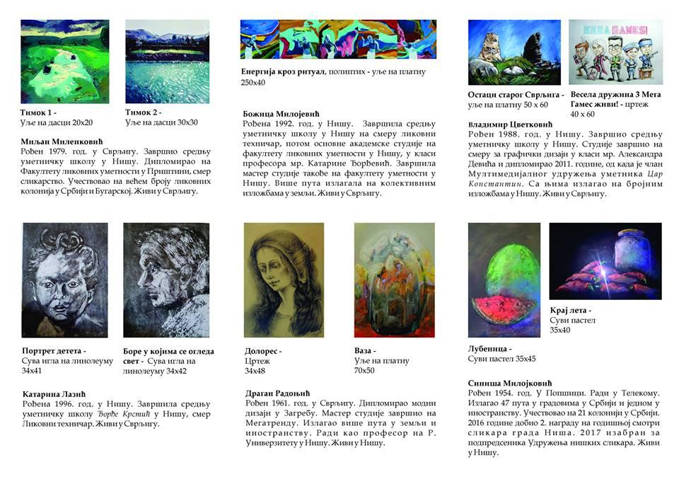 Majska izložba slika svrljiških slikara povodom Dana opštine 3