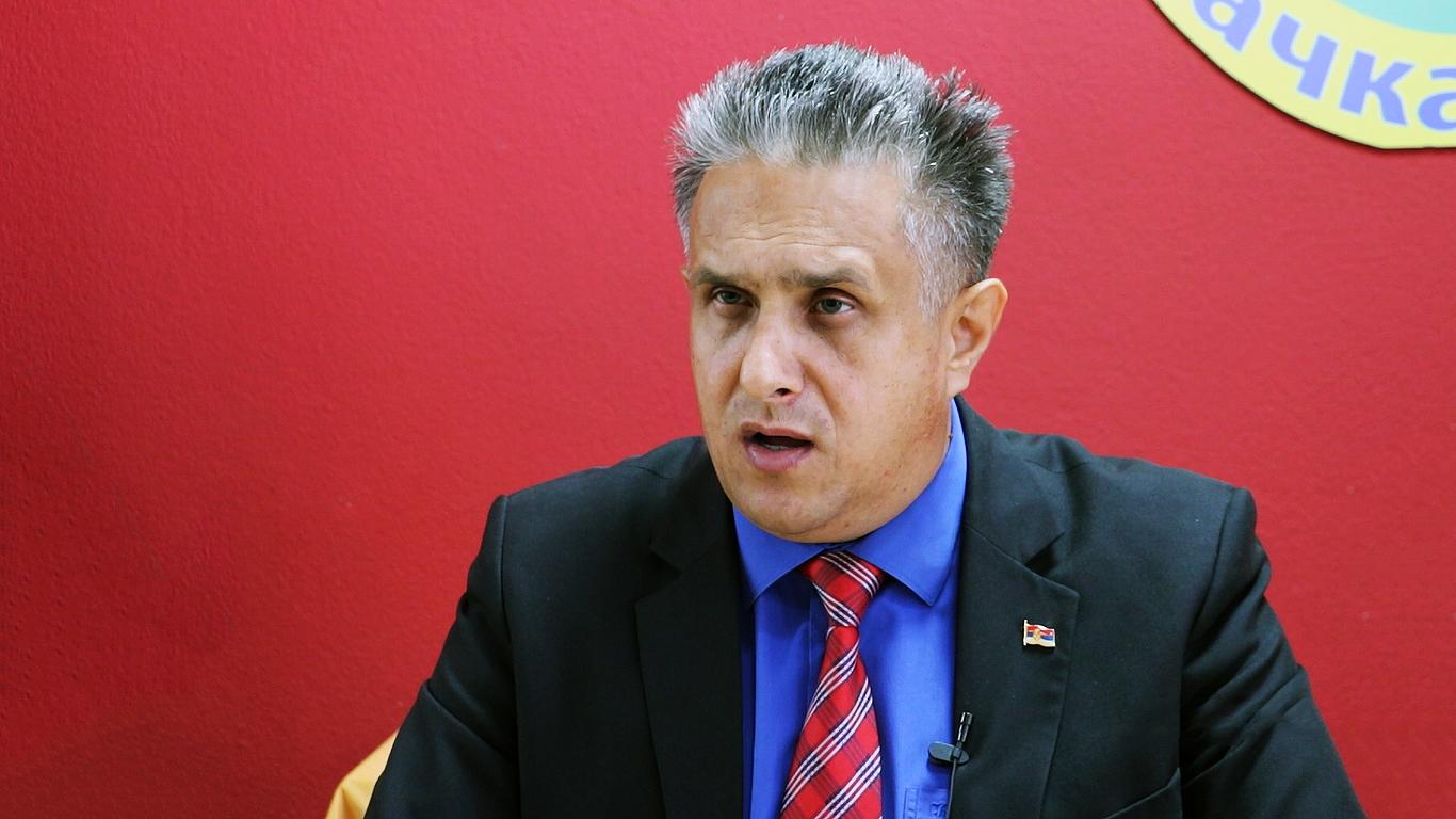 Narodni poslanik Milija Miletić, foto: M.M.