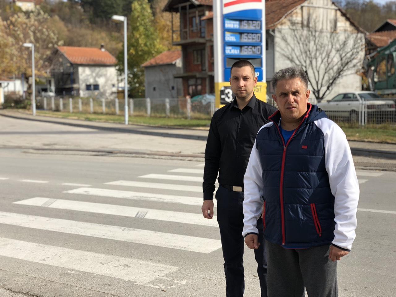 Miroslav Marković i Milija Miletić na terenu