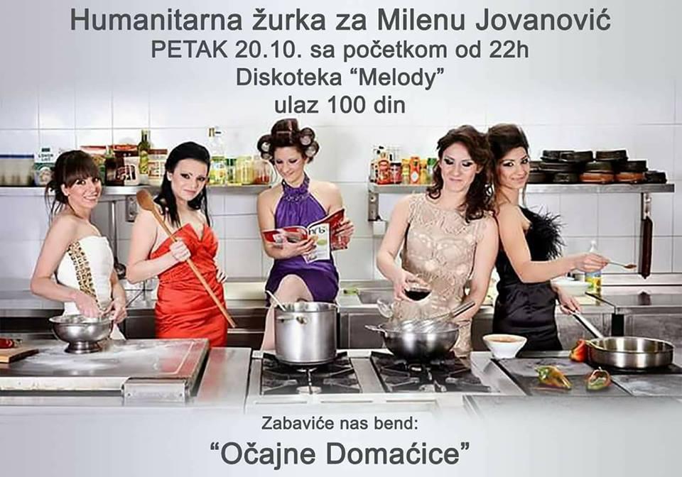 """Svrljižani i """"Očajne domaćice"""" za pomoć Mileni Jovanović"""