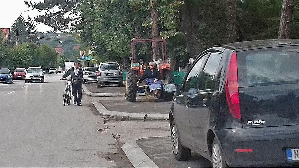 Parkira ko kako i gde stigne