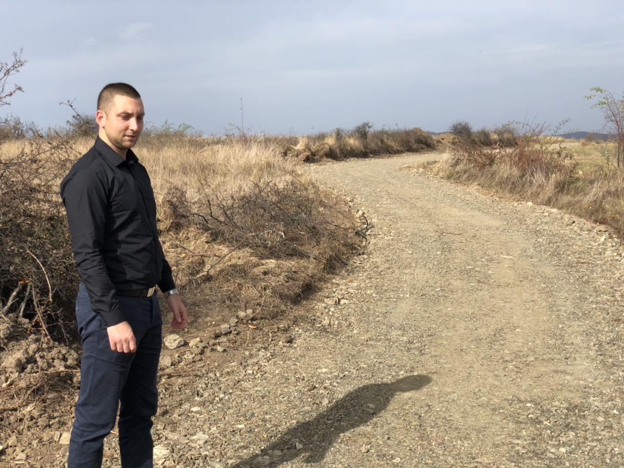 Marković obišao novoizgrađeni atarski put