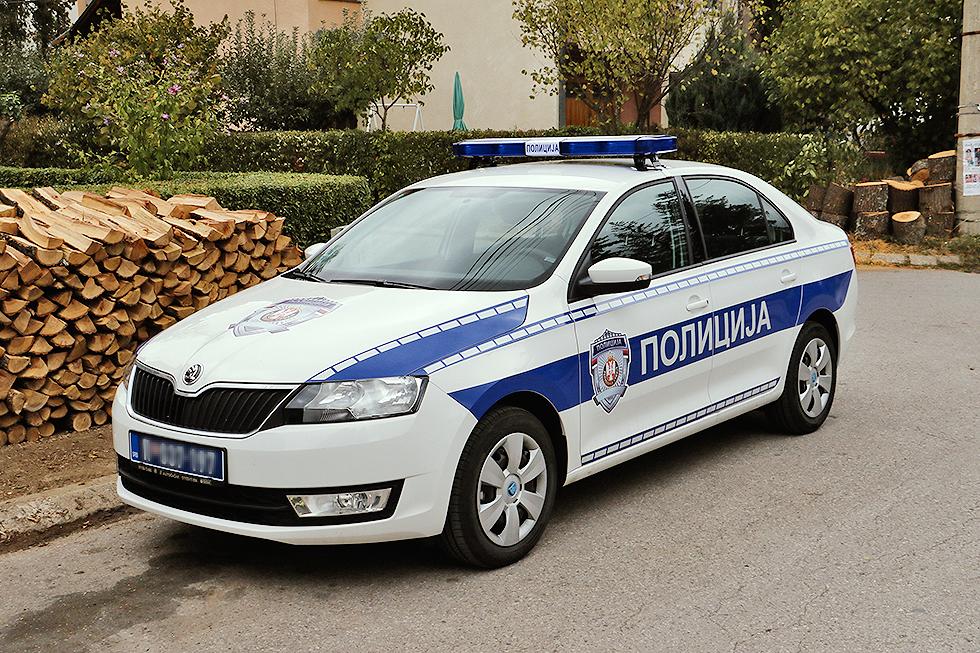 Novo policijsko vozilo za PS Svrljig, foto: M. Miladinović