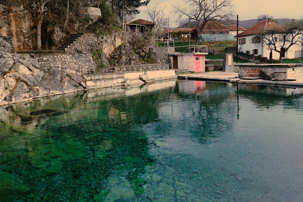 Bazen u selu Popšica nadomak Svrljiga, foto: Svrljiške novine
