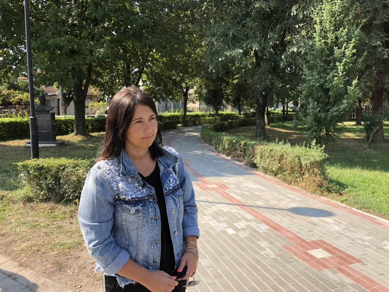 Predsednica opštine Svrljig Jelena Trifunović obišla gradski park, foto: M.M.