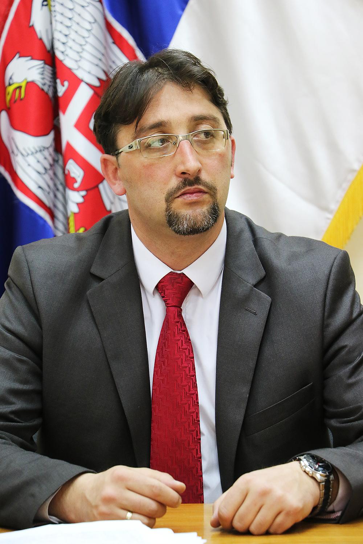Predsednik Skupštine opštine Svrljig Igor Davidović