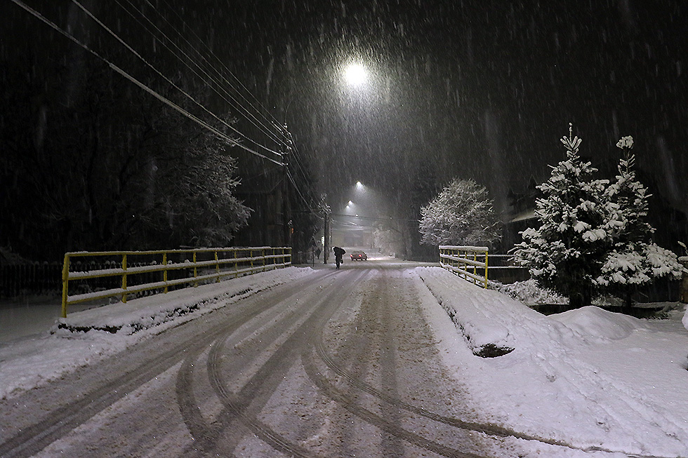 Prve pahulje snega u Svrljigu