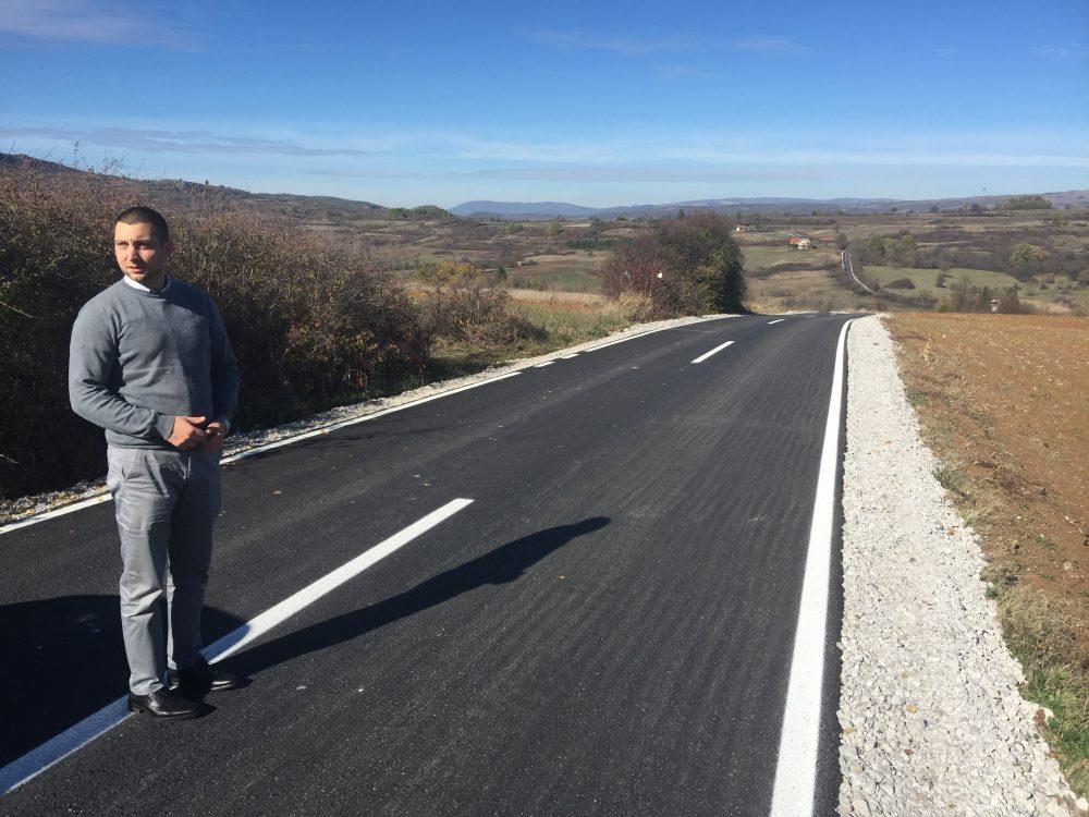 Završena izgradnja puta do Grbavča