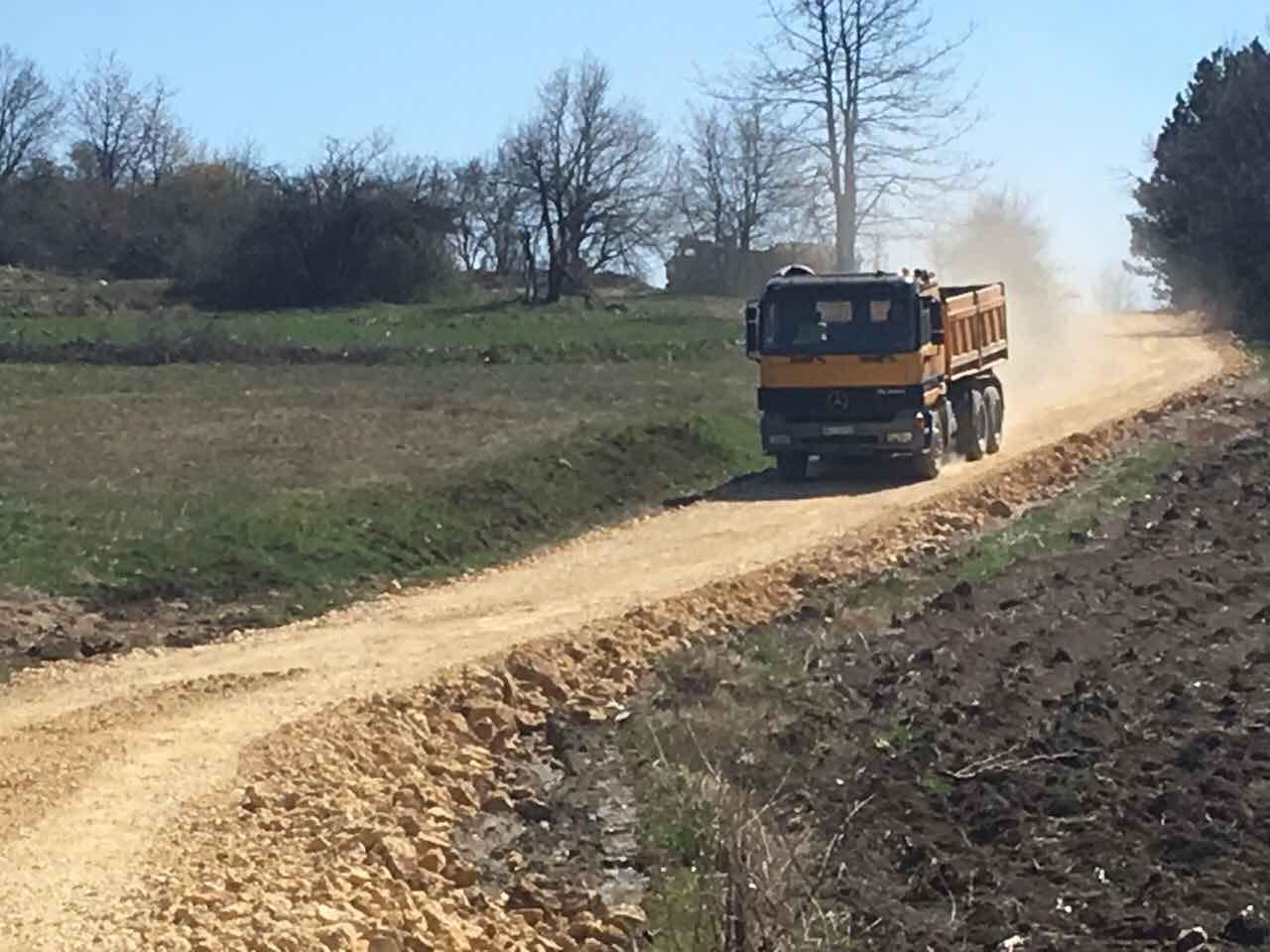 Rekonstrukcija puta u Drajincu u dužini od 1,5 km 2