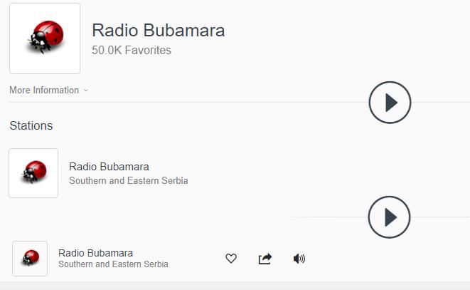 """""""Bubamaru"""" na internetu sluša preko 50.000 ljudi!"""