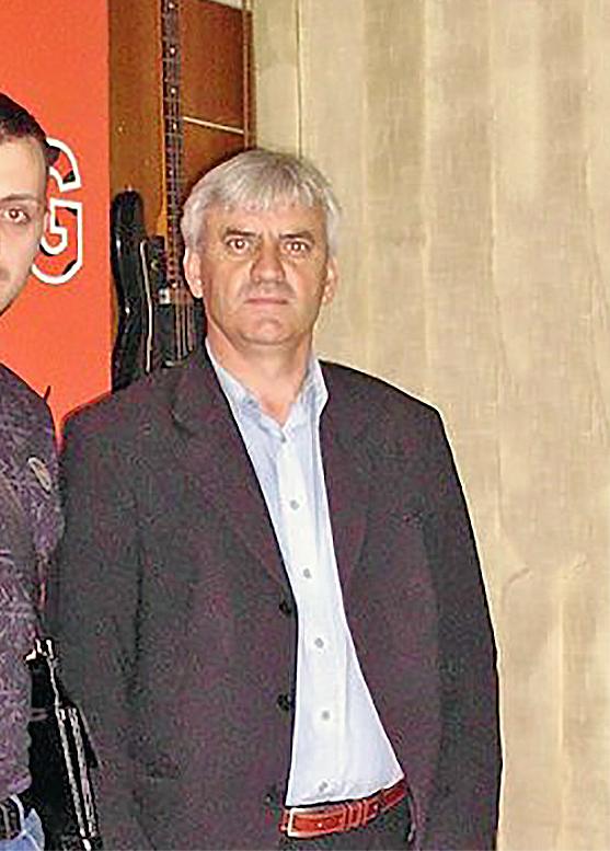 Direktor Goše, Radiša Savić iz Svrljiga, foto: Bubamara radio
