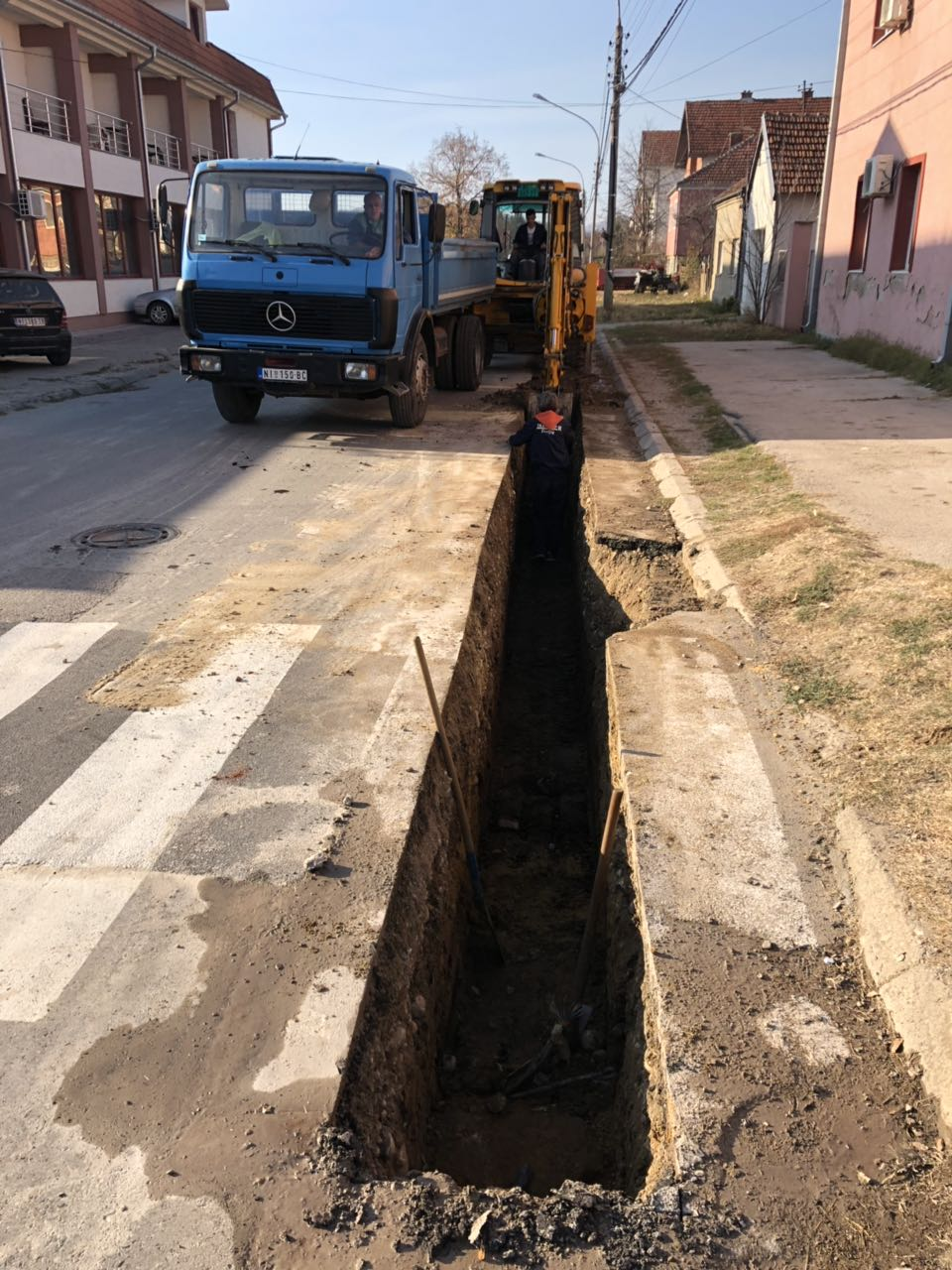 Rekonstrukcija vodovodne mreže u ulici Stavre Partizana