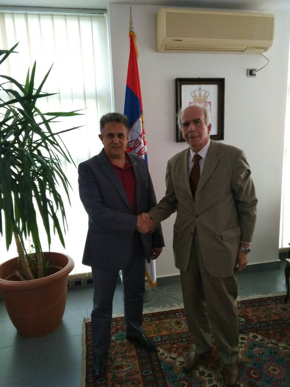 Narodni poslanik Miletić u poseti Albaniji!
