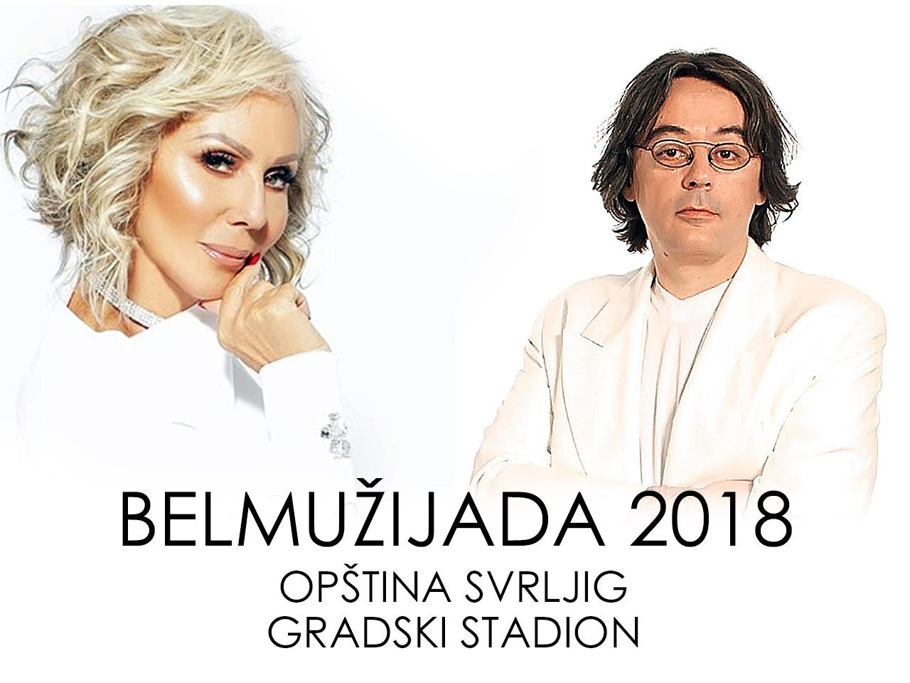 Na 13. Belmužijadi Lepa Brena i Sanja Ilić & Balkanika