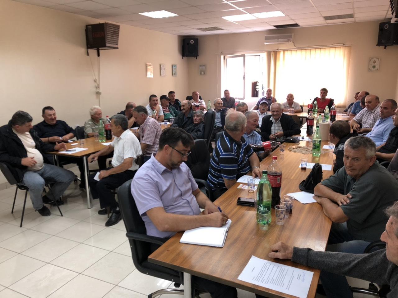 Predstavnici MZ na sastanku u opštini, foto: M.M.