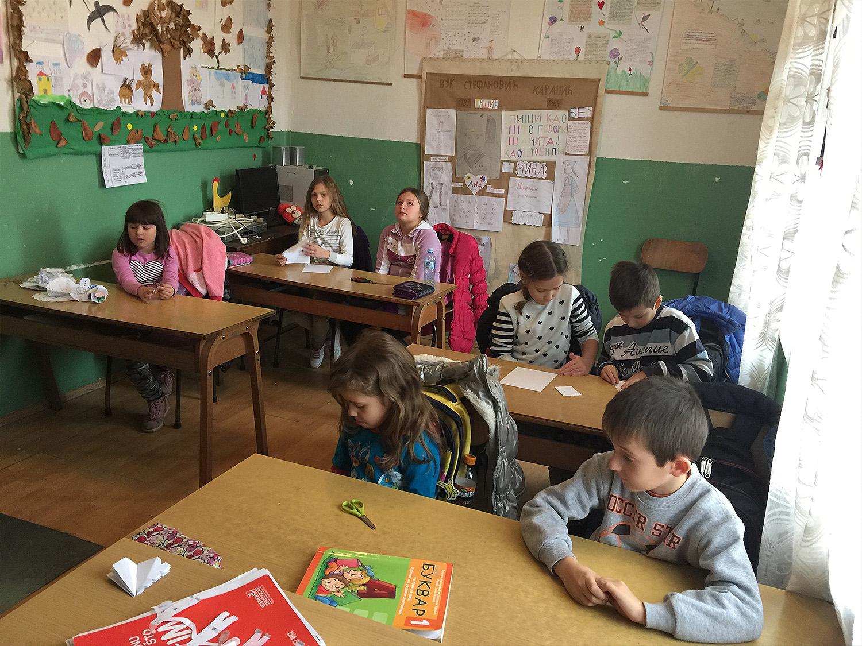Seoska škola u Ribaru, foto: Svrljiške novine, realizacija projekta: Natalitet kao prioritet