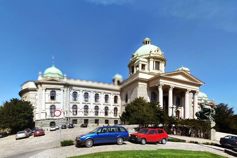 Foto: Google maps / Skupština Srbije