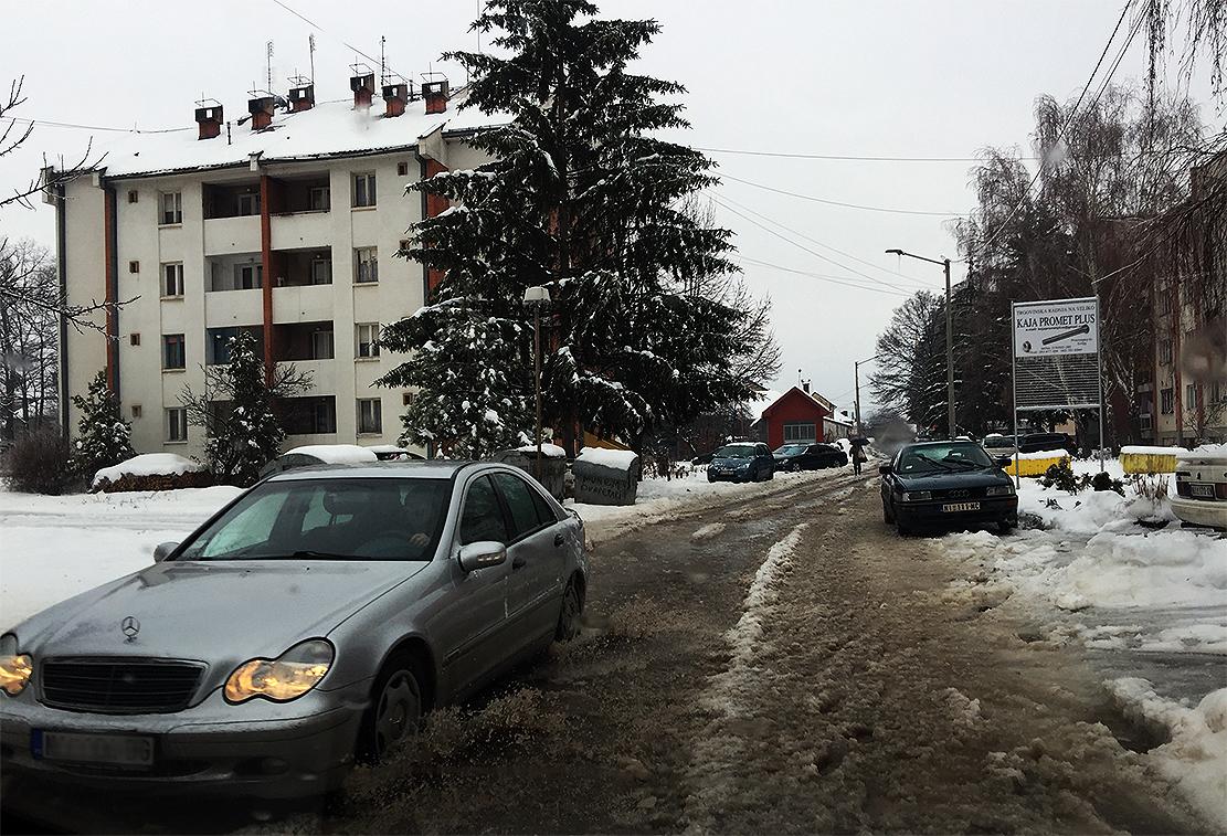 """SNEG I KIŠA: """"Paralizovana"""" svrljiška naselja (FOTO)"""
