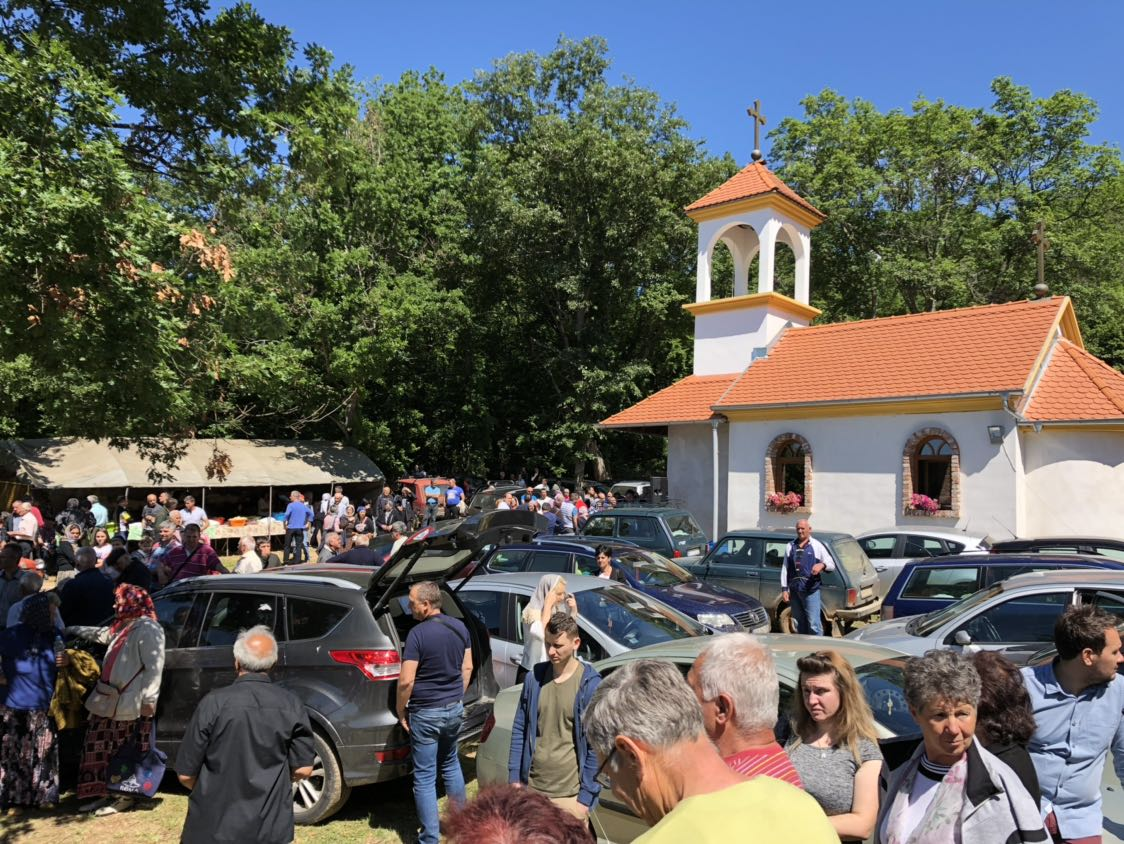 Vernici iz cele Srbije proslavili Spasovdan u Labukovu kod Svrljiga