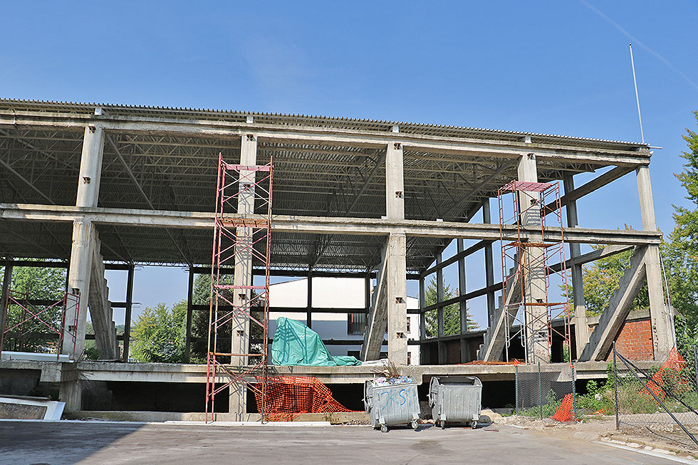 Očekuje se nastavak završetka izgradnje sportske hale