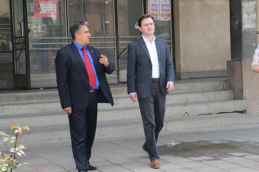 Miletić i Selaković obišli sudsku zgradu