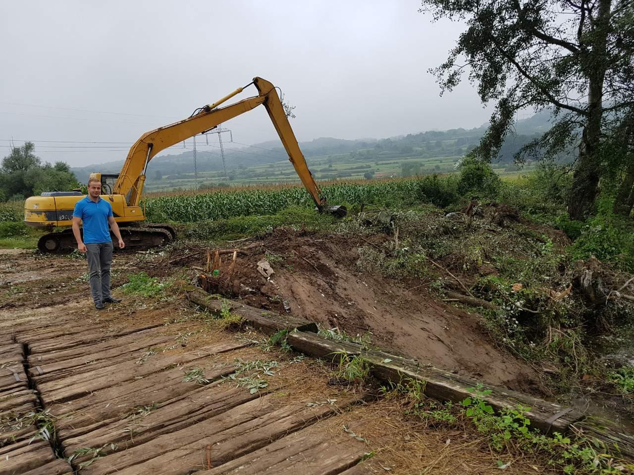 Počeli radovi na prevenciji od poplava