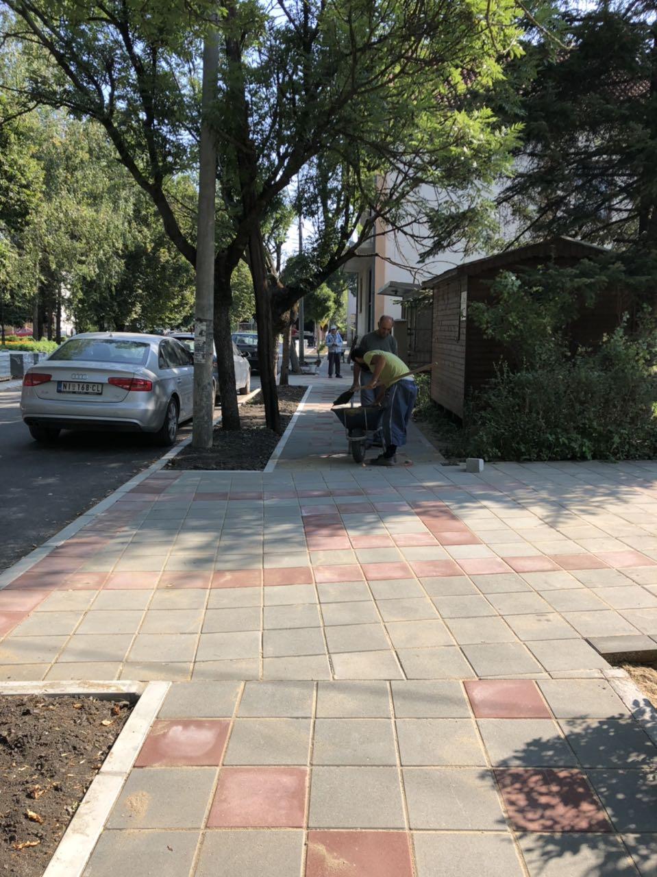 Završena rekonstrukcija ulice Bore Price