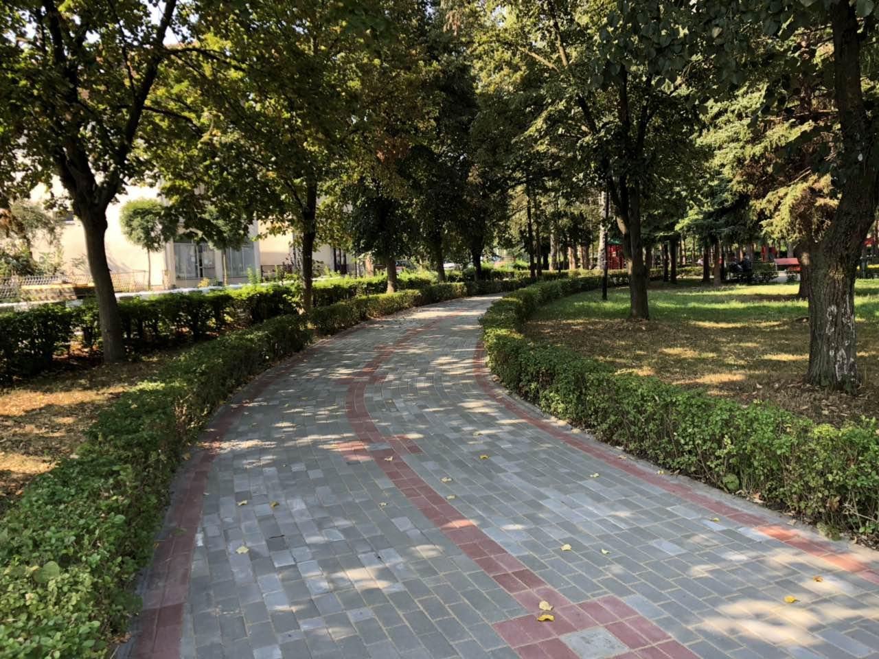 Izgrađena nova šetališta u gradskom parku