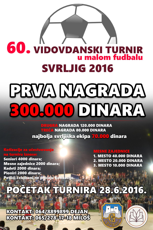 Sutra počinje najstariji turnir u malom fudbalu u Srbiji