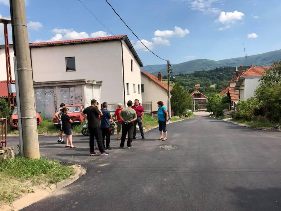 Asfaltirane ulice Hajduk Veljko i Jocina