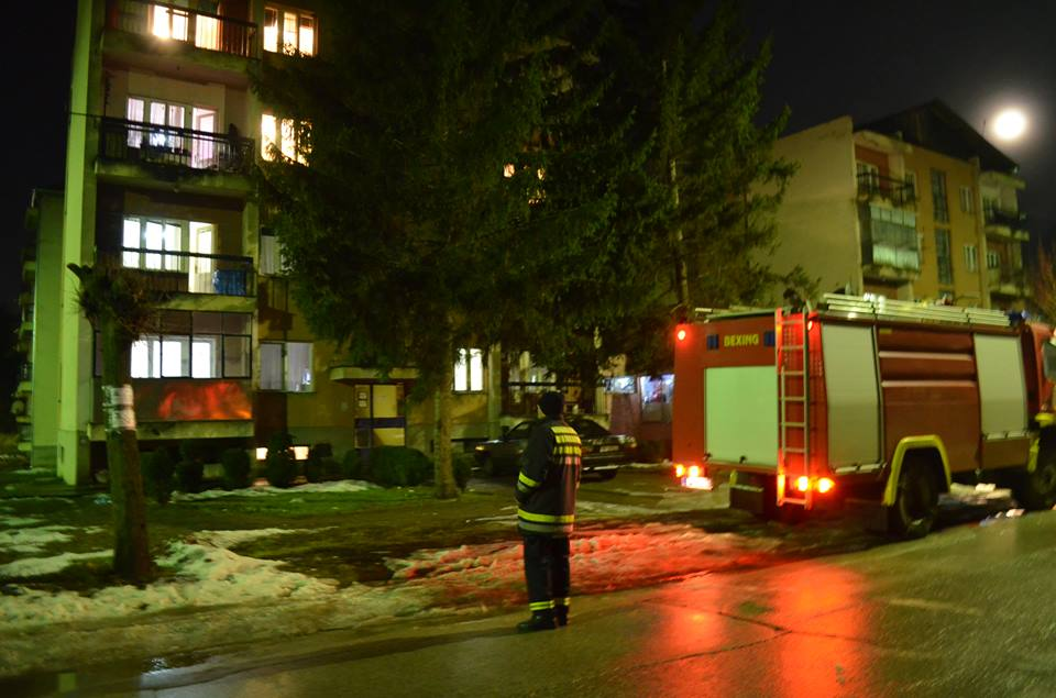 Goreli odžaci zgrada na dve lokacije u Svrljigu