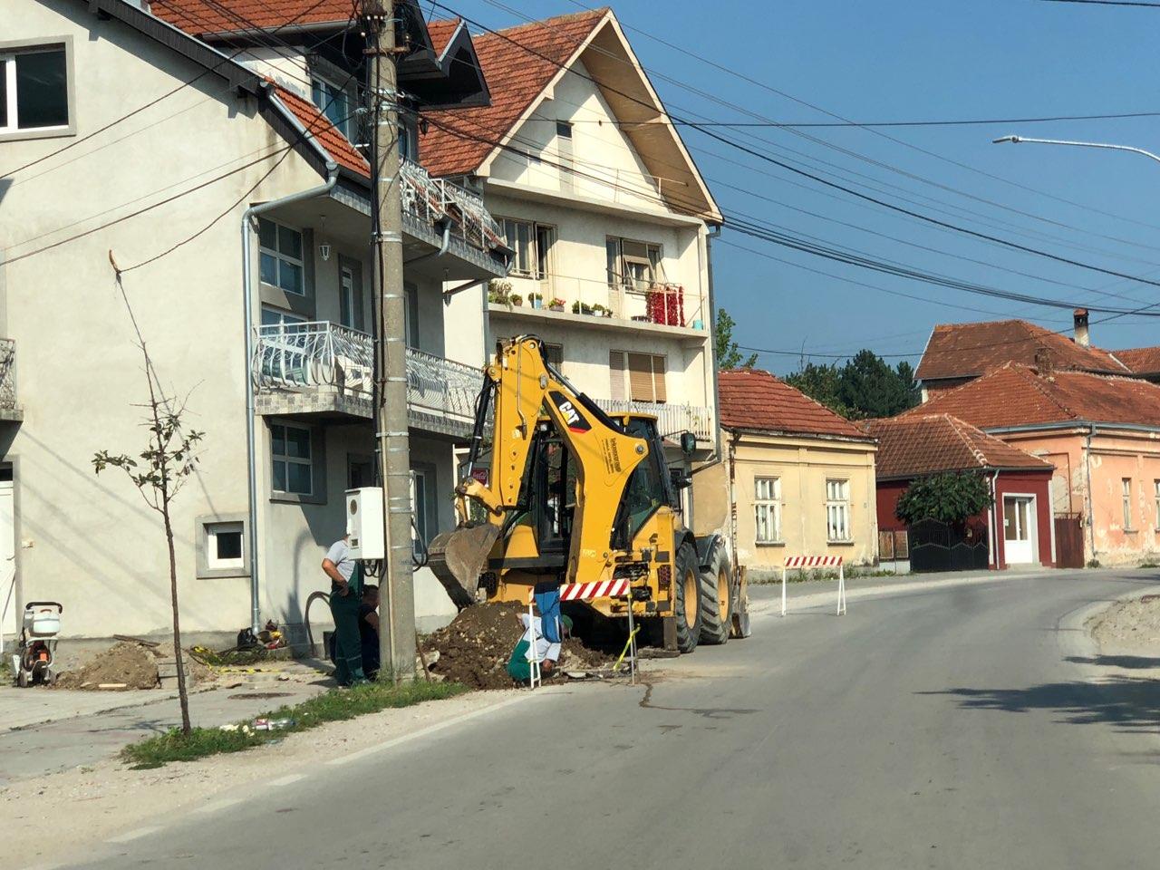 Trenutno bez vode ulica Vasilija Anđelkovića Albanca